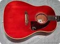 Epiphone Texan 1968 Cherry Red