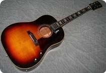 Gibson J 160E GIE0511 1968 Tobacco Sunburst
