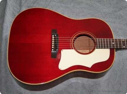 Gibson J 45 (gia0507)  1968 Cherry Red