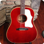 Gibson J 45 1968 Cherry Red