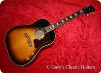 Gibson J 160E GIA0112 1956 Tobacco Sunburst