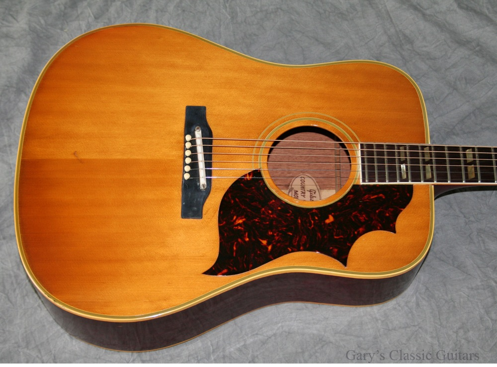 Gibson Country Western (GIA0498) 1963 Natural Guitar For Sale Garys ...