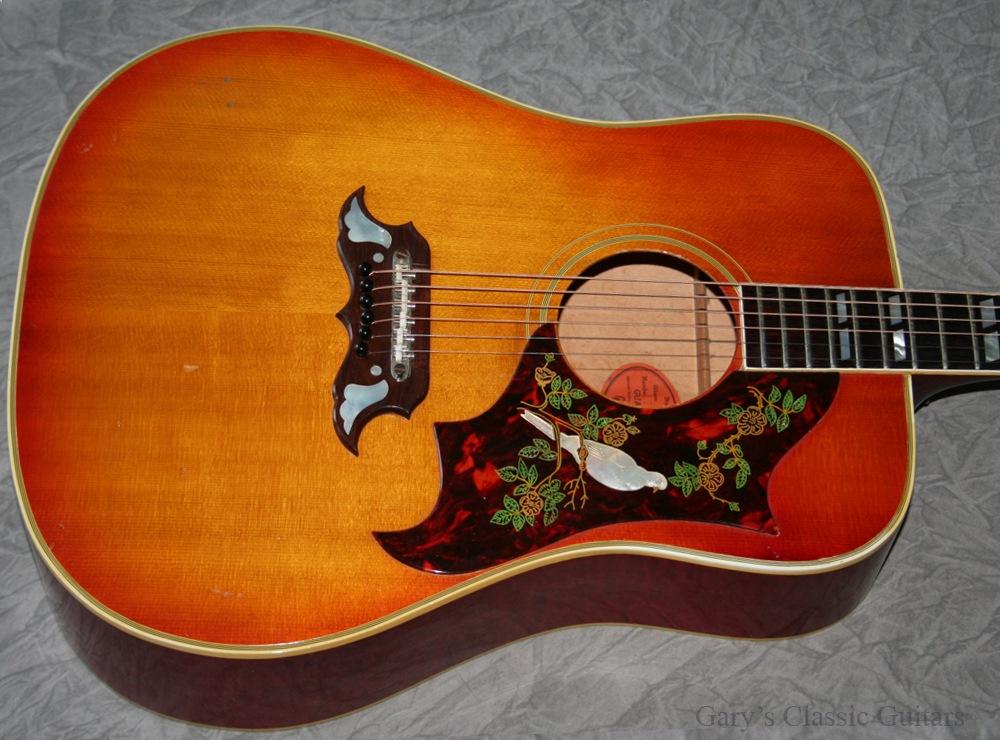 Gibson Guitars For Sale >> Gibson Dove 1964 Cherry Sunburst Guitar For Sale Garys Classic Guitars