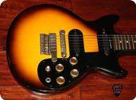 Gibson-Melody Maker D (GIE0455) -1962-Sunburst