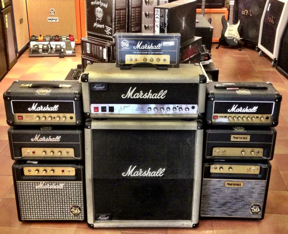 Marshall Silver Jubilee 2553 Head With 212 Cab 1980's Amp For Sale ...