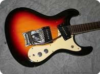 Mosrite-MK I Ventures Model-1965-Sunburst