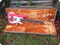 Fender Precision 1963 Fiesta Red