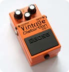 Boss DS1 Vintage Distortion Mod Orange