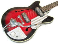 Teisco EP 8T 1966 Red