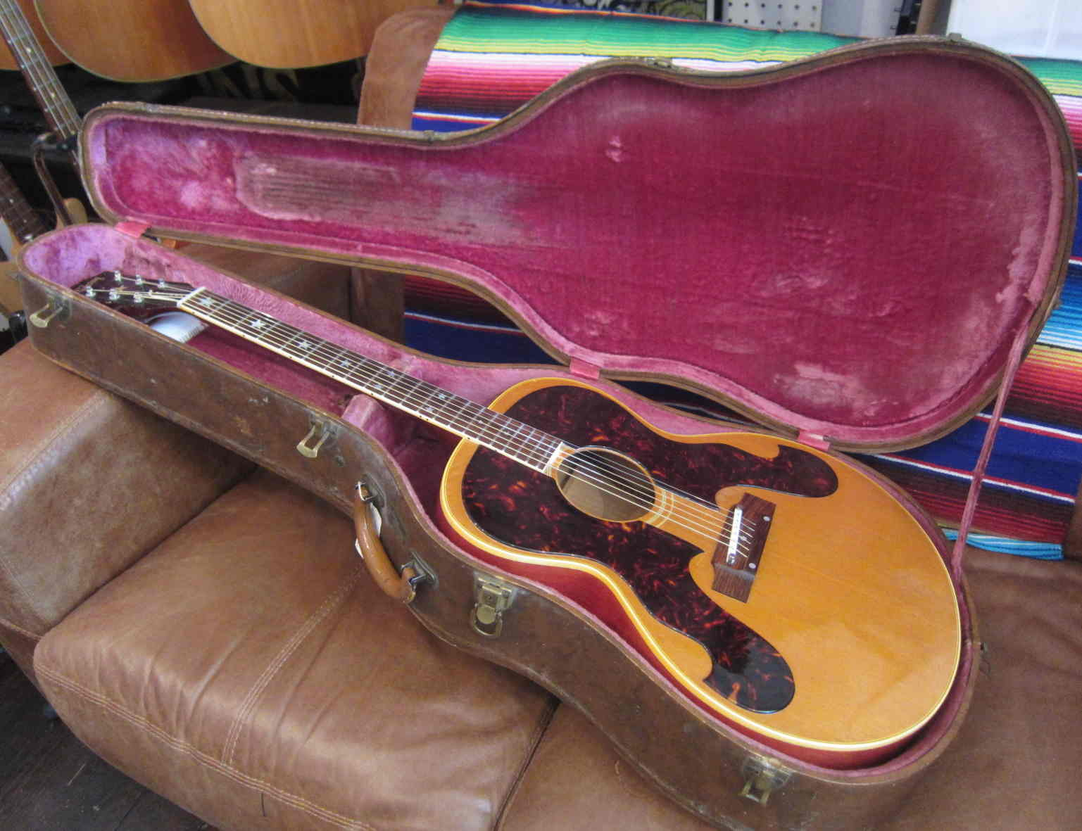 gibson everly brothers 1963 guitar for sale new kings road guitars. Black Bedroom Furniture Sets. Home Design Ideas