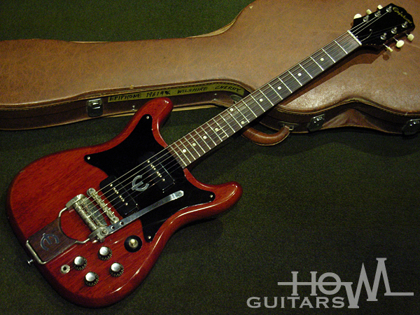Epiphone Wilshire 1962 Cherry Red Guitar For Sale HOWL GUITARS