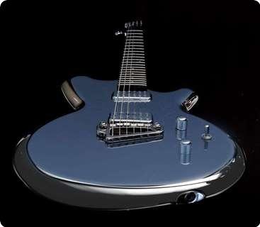 Liquid Metal Guitars M1 Curvaceous Chromed Excellence