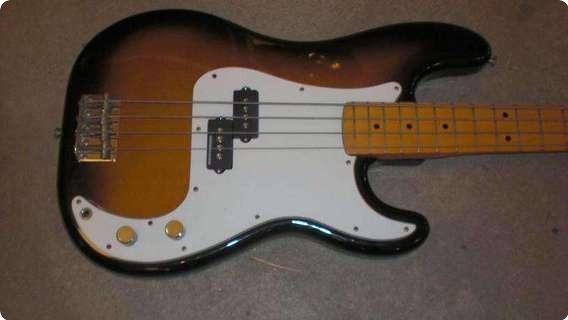 Fender Mij Precision 1989 Two Tone Sunburst
