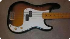 Fender MIJ Precision 1989 Two Tone Sunburst