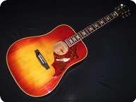 Gibson Hummingbird 1974 Sunburst