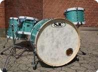 SJC Custom Drums US Set Turquoise