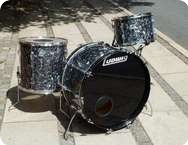 Ludwig Vintage Drum Set Black Diamond Pear