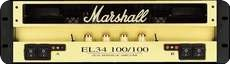 Marshall-9200 Power Tube NEW OLD STOK-1995-Gold