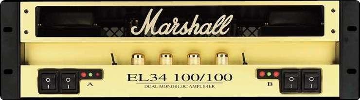Marshall 9200 Power Tube New Old Stok 1995 Gold