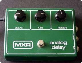 Mxr analog delay pedal