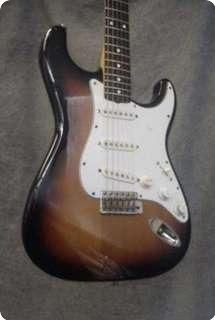 Fender Jv Stratocaster 1983 Sunburst
