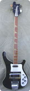 Rickenbacker 4001 Stereo 1975 Jetglo Black