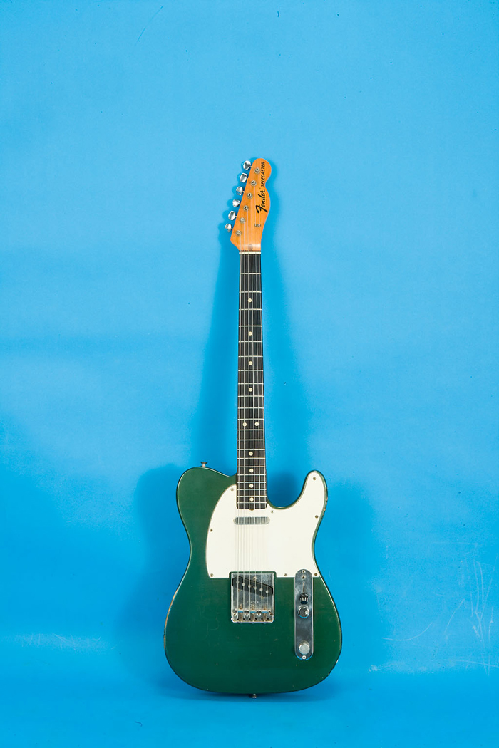 Fender Telecaster 1970 Ocean Turquoise Guitar For Sale Jay Rosen Music