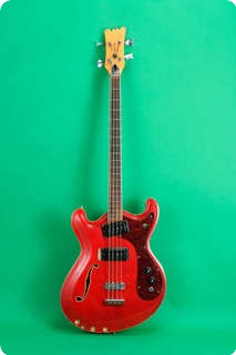 Mosrite Combo Model 1969 Red