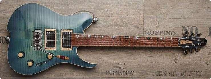 Zerberus Guitars Blue Flame Triton