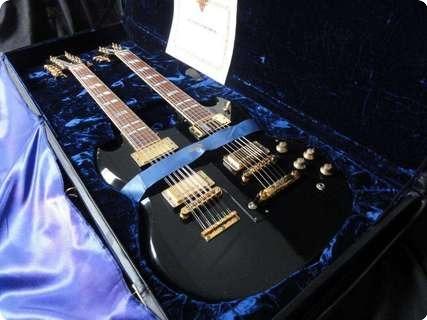 Gibson Eds 1275 Centennial 100th Anniversary 1994 Ebony