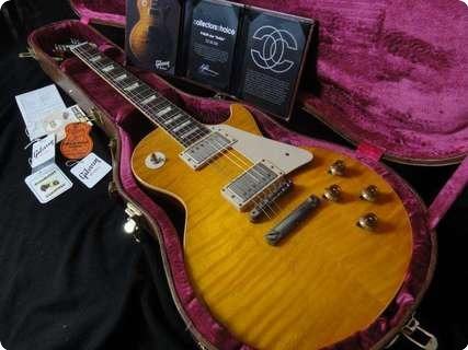 Gibson Les Paul Sandard 1959 Cc #2 Goldie 2010 Lemon