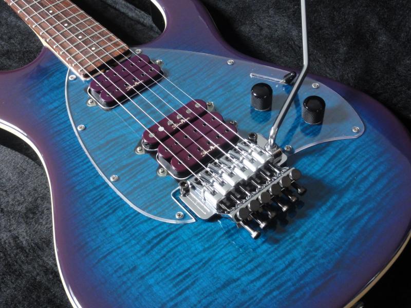 music man steve morse y2d floyd rose 2010 deep purple burst guitar for sale rjv guitars. Black Bedroom Furniture Sets. Home Design Ideas