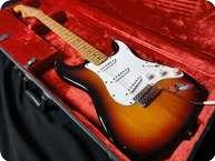 Fender Stratocaster USA Jimi Hendrix Tribute Voodoo Strat 1997 Sunburst
