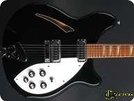 Rickenbacker 360 1989 Jetglo Black