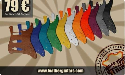 Leather Guitars Special Pickguards