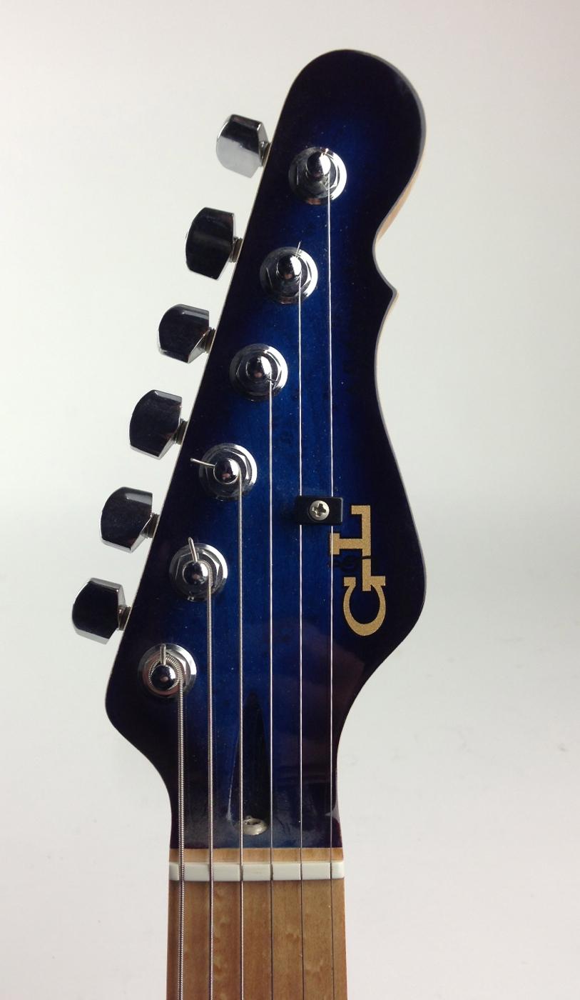 g l usa asat deluxe 1990 39 s blue burst guitar for sale thunder road guitars. Black Bedroom Furniture Sets. Home Design Ideas