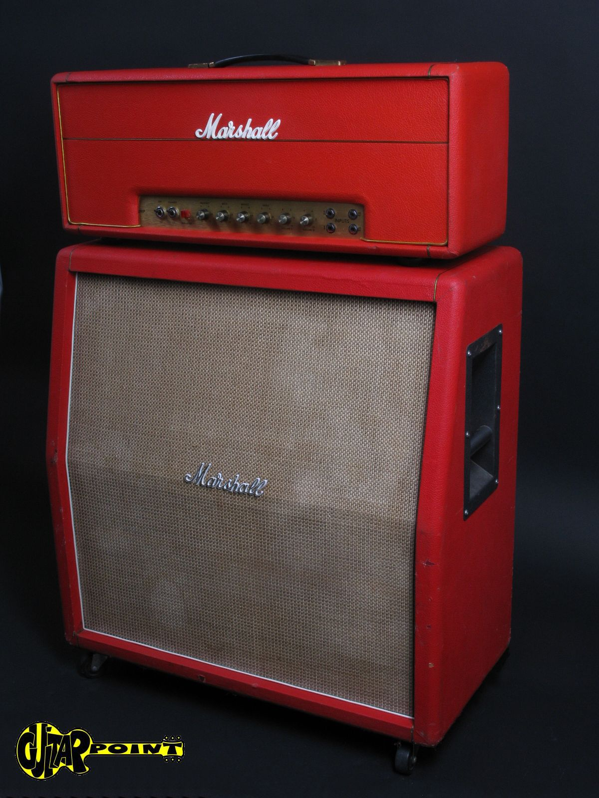 marshall 50 watt bass 1935 4x12 1971 red levant amp for sale guitarpoint. Black Bedroom Furniture Sets. Home Design Ideas