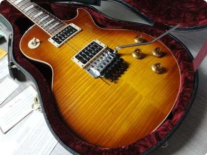 gibson les paul axcess floyd rose 2008 iced tea guitar for sale rjv guitars. Black Bedroom Furniture Sets. Home Design Ideas