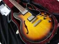 Gibson ES 339 Custom Shop Semi Hollowbody ES 335 2009 Antique Vintage Sunburst