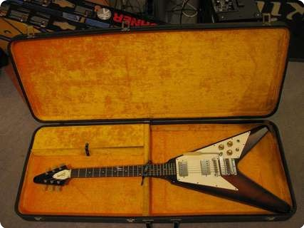 gibson flying v 1967 sunburst guitar for sale anders anderson guitars. Black Bedroom Furniture Sets. Home Design Ideas