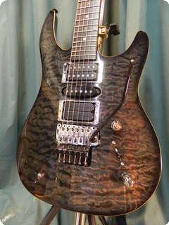 brian moore mc 1 1996 trans grey guitar for sale my generation guitars. Black Bedroom Furniture Sets. Home Design Ideas