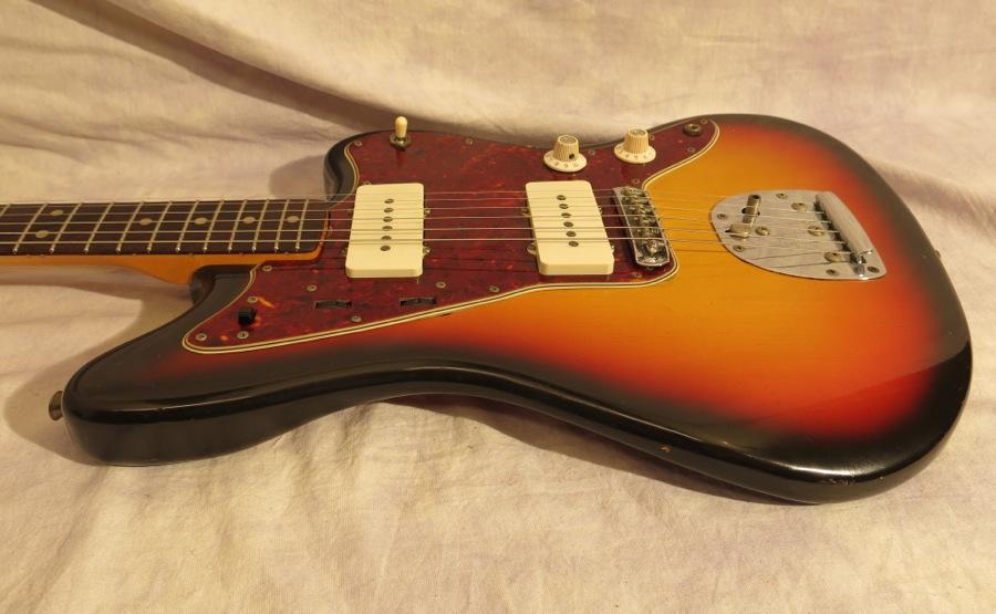 Fender Jazzmaster Sunburst 1965 Vine Sixties But Practically Brand New