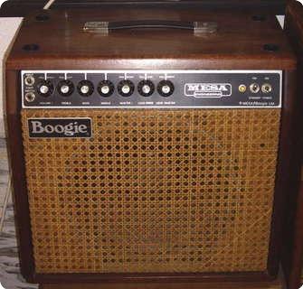 Mesa Boogie Mk Ii Wood Line 1980 Wood