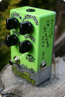 Vl Effects Overdrive Od One Greentone 2016 Green Silver