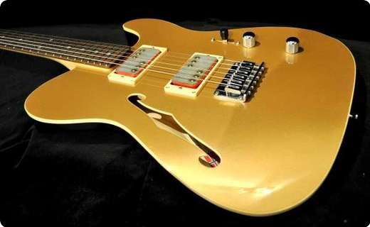 Husemoens Gitarmakeri T Style, Cream T/billy Gibbons Bangers   Made To Order
