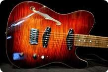 Husemoens Gitarmakeri T STYLE CONTOURED THINLINE Made To Order