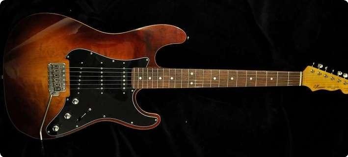 Husemoens Gitarmakeri St Style Basswood/birch Top   Made To Order