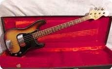 Fender Precision 1977 Sunburst