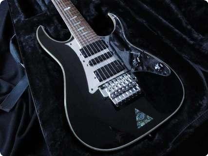 Ibanez Uv 777 Universe 7 String Steve Vai 2000 Piano Black