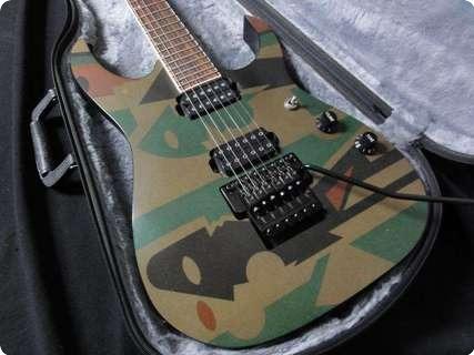 Ibanez JPM P4 John Petrucci 1998 Camo Guitar For Sale RJV Guitars
